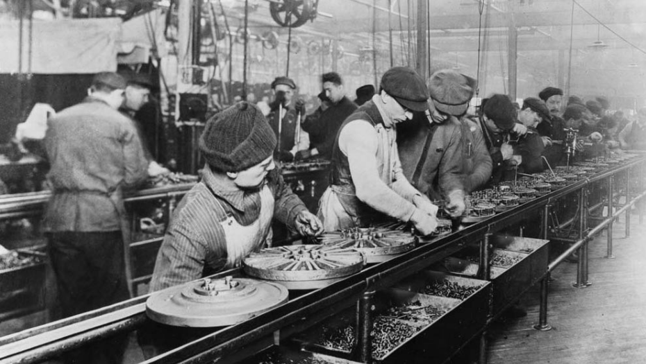 Early Ford Motor Company Assembly Plant