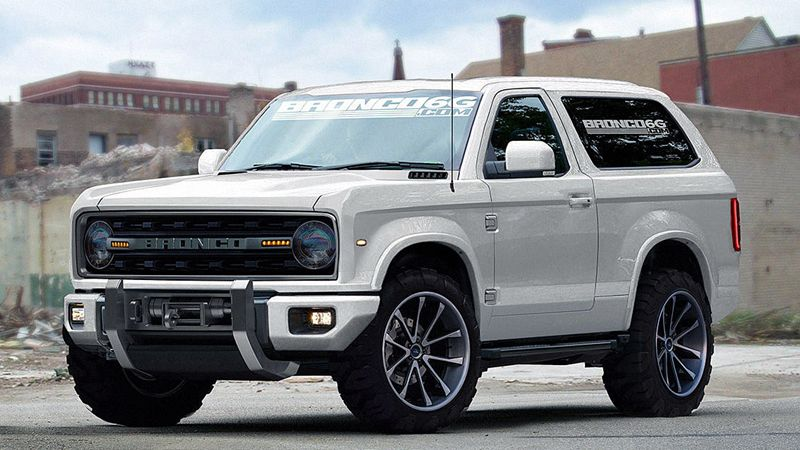 Remember When The New Ford Bronco Was Just A Rumor?